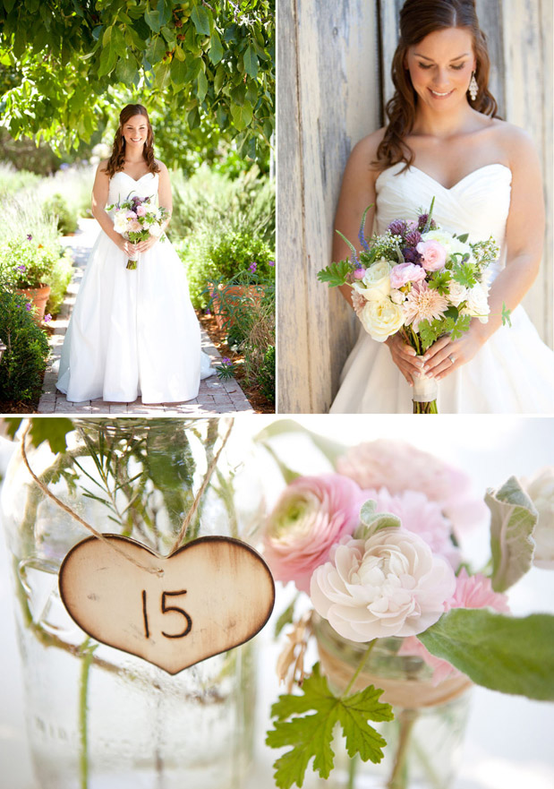 The details are simple sweet and perfectly charming Wedding