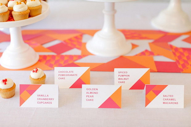 Wedding Blog Tangram Puzzle Printable Parties from Melangerie
