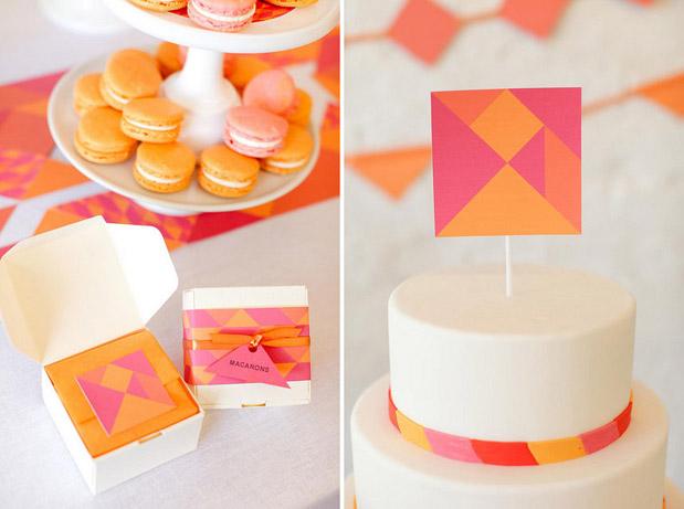 Wedding Blog Tangram Puzzle Printable Parties from Melangerie