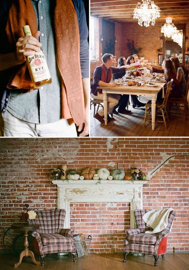 Wedding Blog A Rustic Thanksgiving