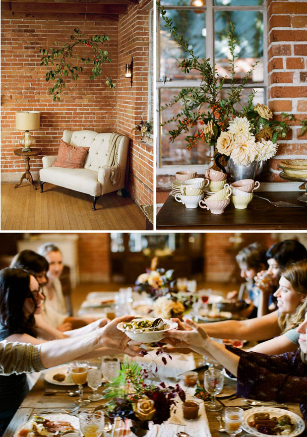 Wedding Blog A Rustic Thanksgiving