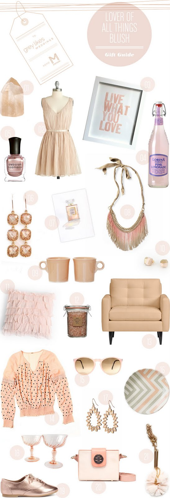 Wedding Blog Blush: Gift Guide from MStetson Design