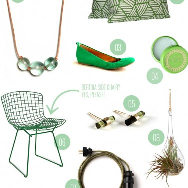 Green With Envy: Gift Guide from MStetson Design