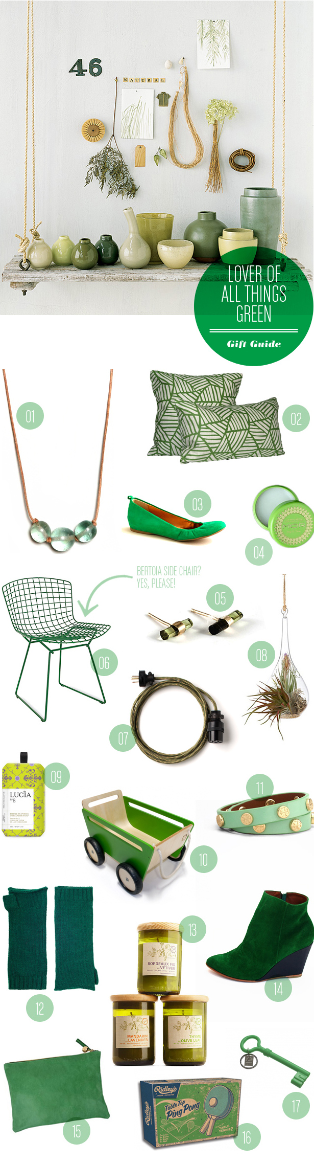 Wedding Blog Green With Envy: Gift Guide from MStetson Design