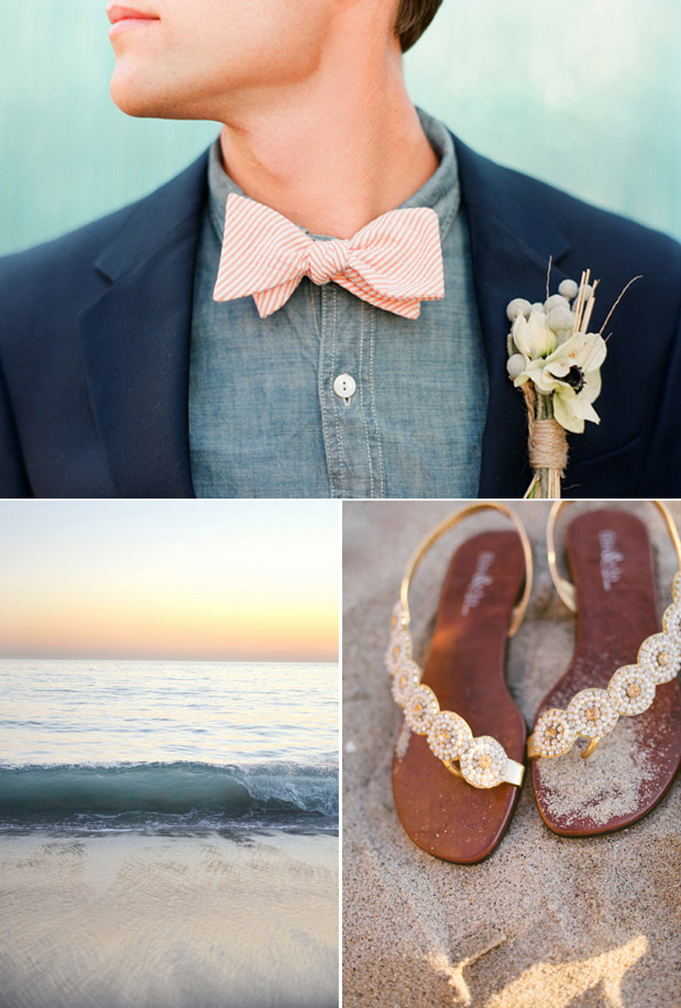 Wedding Blog Shoot This Not That: Surf & Sand