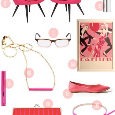 Pink & Punchy: Gift Guide from MStetson Design