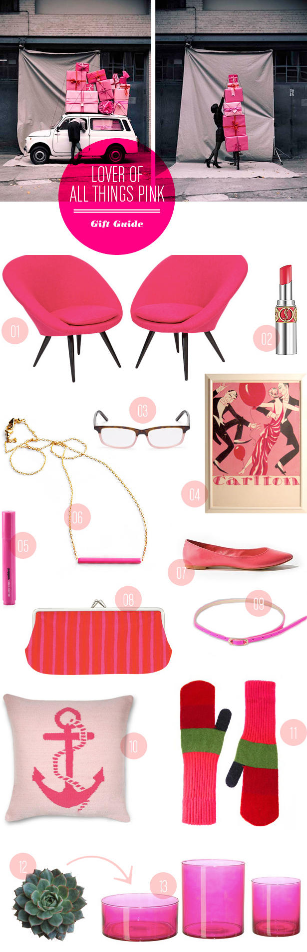 Wedding Blog Pink & Punchy: Gift Guide from MStetson Design