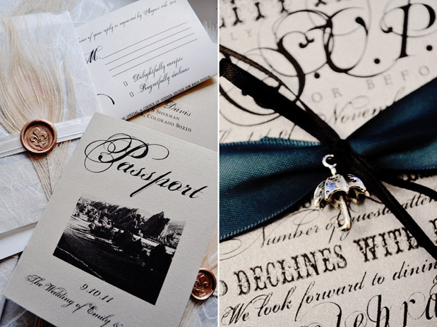 Wedding Blog Vintage Invites Giveaway