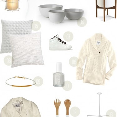 Winter White: Gift Guide from MStetson Design