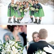 Snowy Christmas Wedding