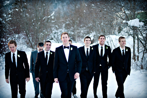 Wedding Blog Snowy Christmas Wedding