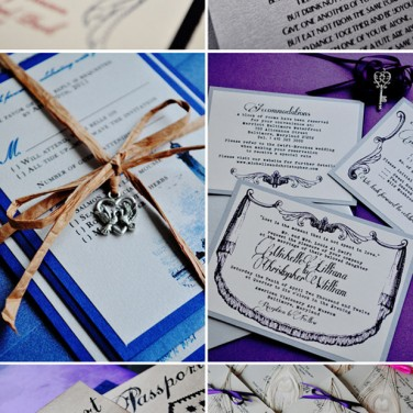 Vintage Invites Stationery Winner