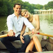 Central Park Row Boat Engagement by Shannen Norman