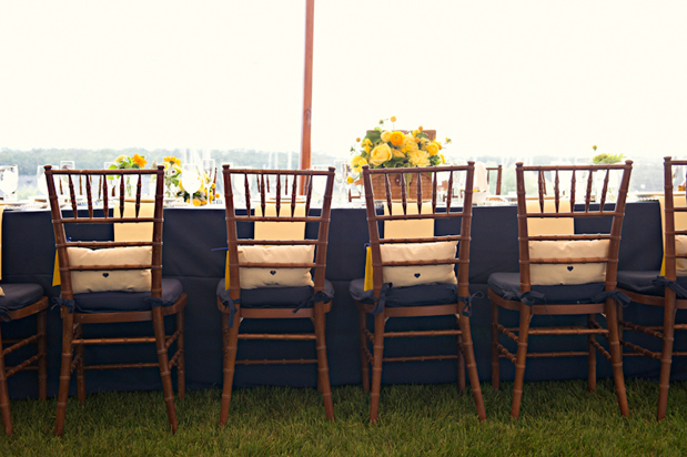 Wedding Blog Americana Prep: Lessons in Navy