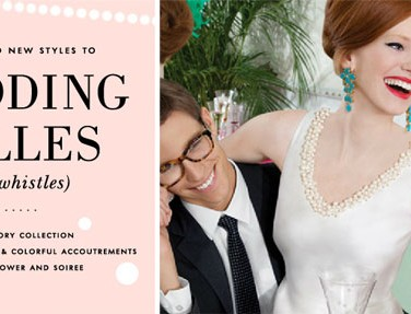 Wedding Belles (and Whistles) From Kate Spade