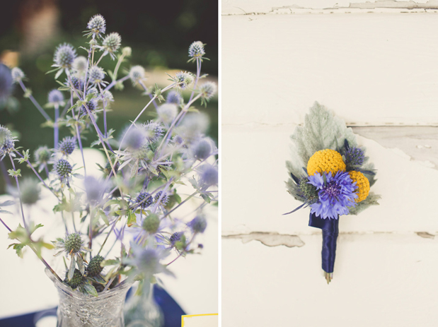 Wedding Blog McCormick Ranch: Bold Cobalt and Marigold
