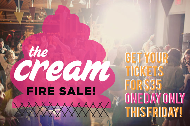 Wedding Blog The Cream Event: FIRE SALE!!!