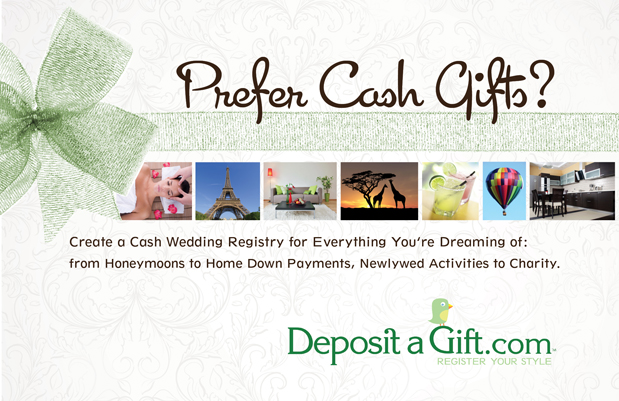 Wedding Blog DEPOSIT A GIFT: REGISTRY INSPIRATION