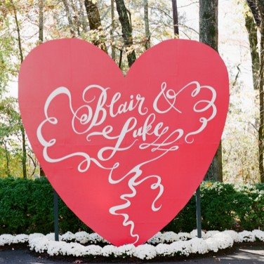 Luke and Blair's Valentine Wedding