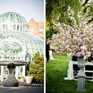 Botanical Gardens Wedding Welcomes Spring