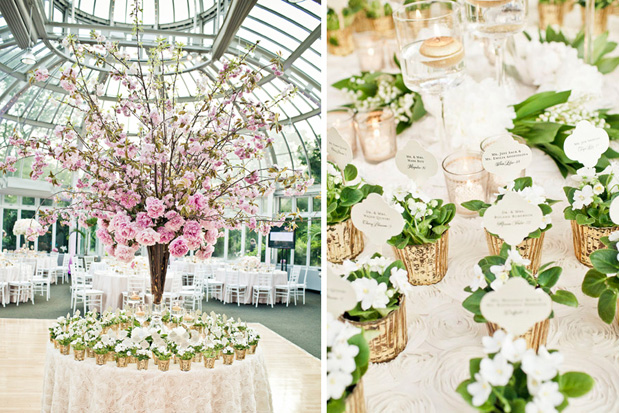 Wedding Blog Botanical Gardens Wedding Welcomes Spring