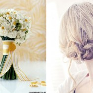 Spring Hair + Matching Bouquets