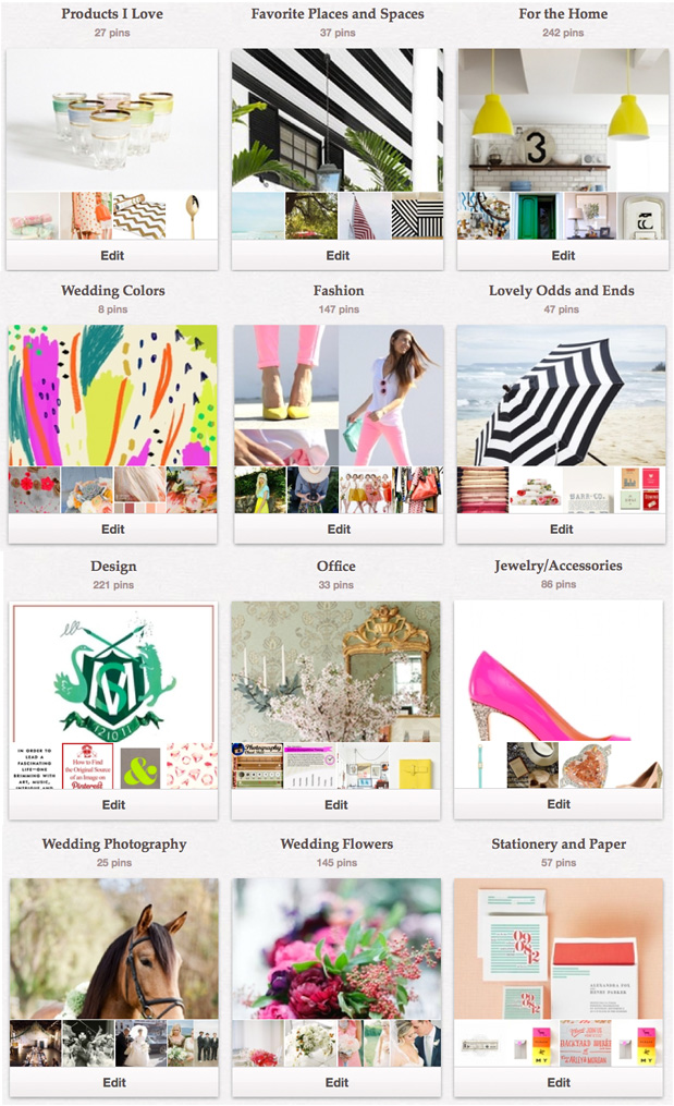 Wedding Blog A Pinterest Field Guide