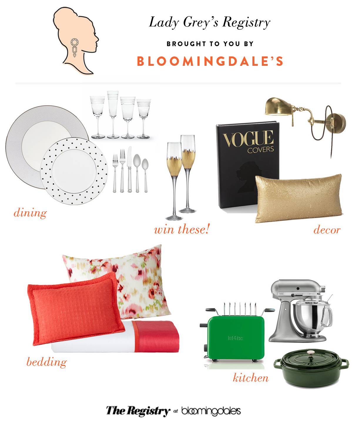 Wedding Blog Bloomingdales Registry