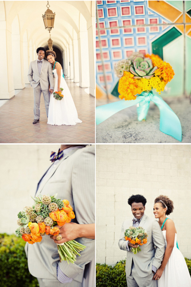 One of our all time favorite Grey Weddings shot by Ashley Rose Photography