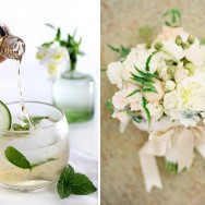 Perfect Pairs: Cocktails + Bouquets