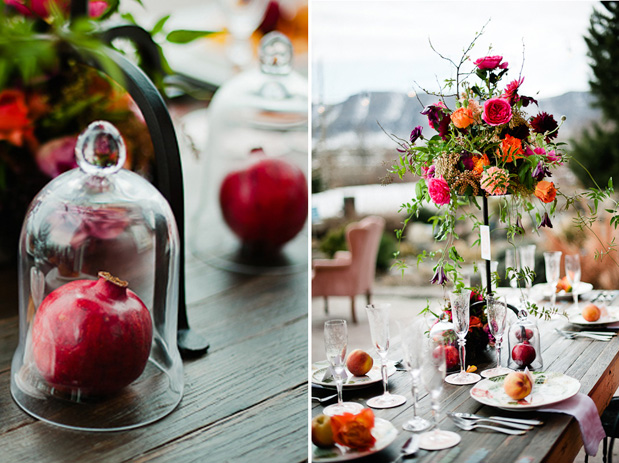 Wedding Blog Pomegranate & Peaches