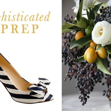 Centerpieces + Shoes: Our Favorite Pairs