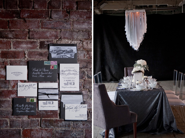Wedding Blog Modern Urban Loft Inspiration