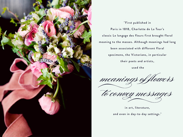 Wedding Blog The Langage of Flowers