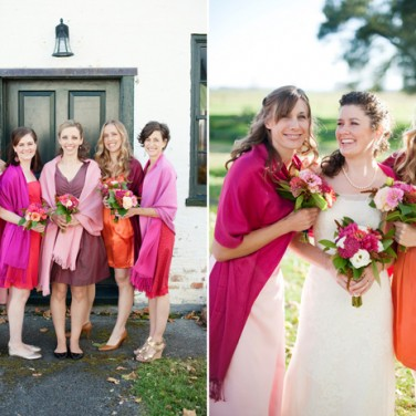 Pink Watercolor Wedding at Swift Level Farm