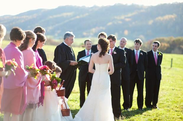 Wedding Blog Pink Watercolor Wedding at Swift Level Farm