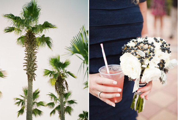 Wedding Blog Navy and Pink Florida Wedding