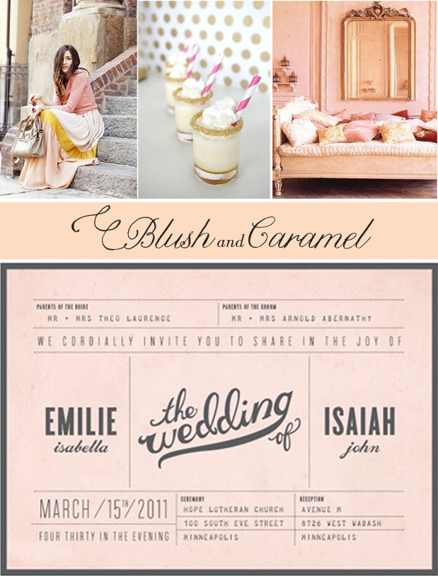 Wedding Blog Blush and (Salted) Caramel