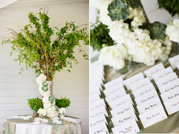Wedding Blog Organic Succulent and Herb Wedding