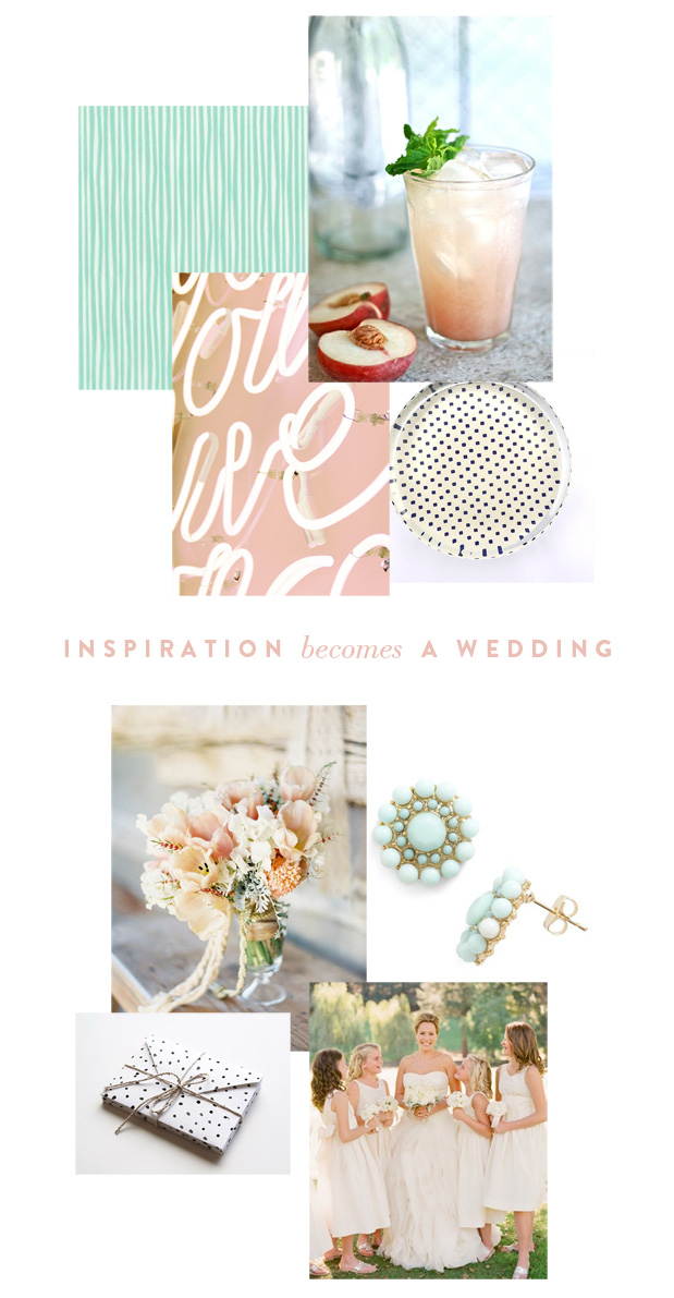 Wedding Blog INSPIRATION BECOMES A WEDDING