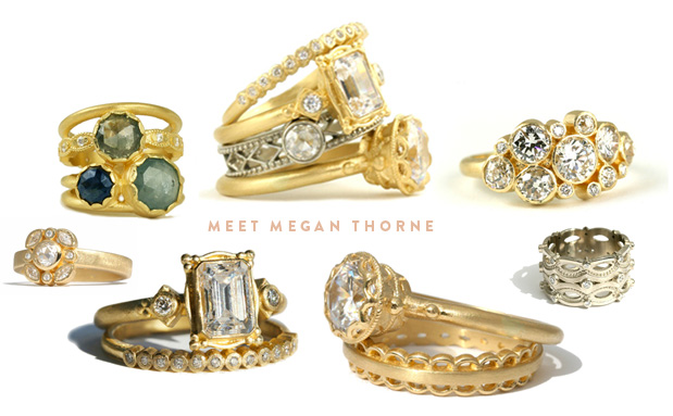 Wedding Blog MEGAN THORNE RINGS