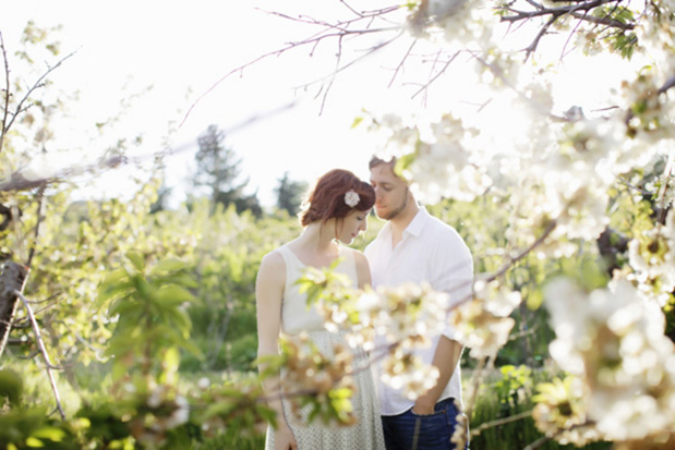 Wedding Blog Love in the Cherry Blossoms