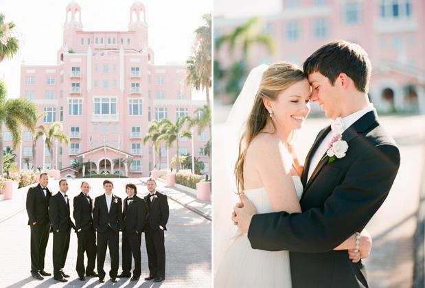 Wedding Blog Don Cesar: Florida Wedding at the Pink Castle