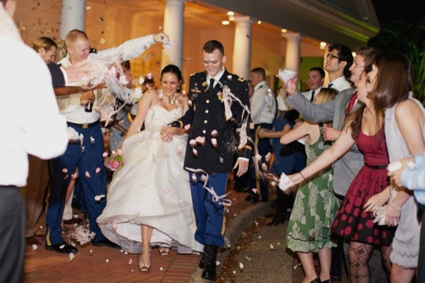 Wedding Blog Military Vows in Virginia