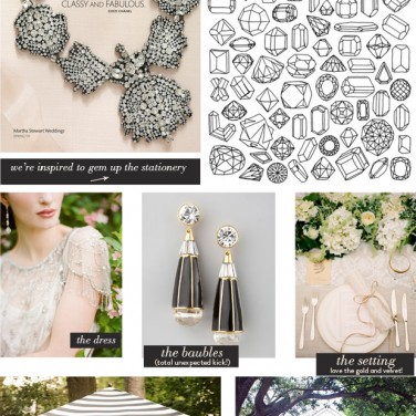 Lady Gemma | Blush & Black Inspiration