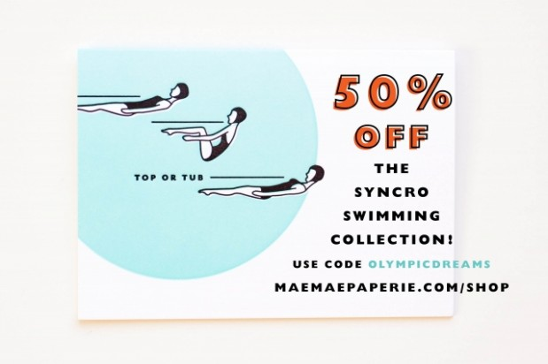 Wedding Blog Syncro Swimmers + MaeMae Paperie