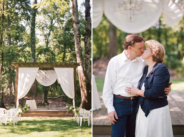 Wedding Blog Vow Renewal by Magnolia Pair