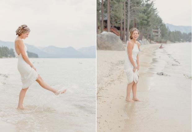 Wedding Blog Lake Tahoe Wedding by Elisabeth Millay