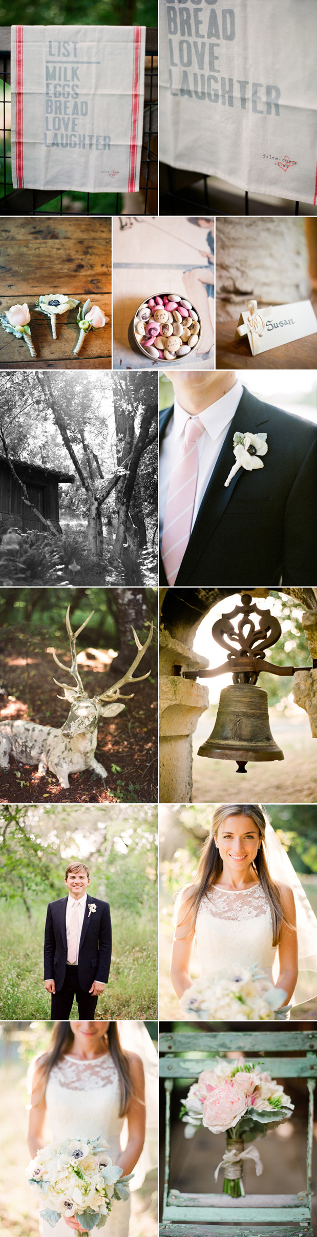Wedding Blog Blush Wedding at Anderson Ranch