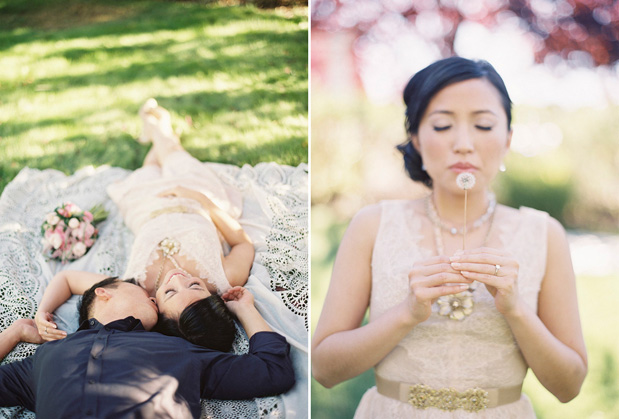 Wedding Blog Blush Vera Wang Engagement Shoot